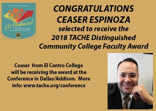 Awards- Ceaser Espinoza