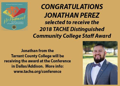 Awards- Jonathan Perez